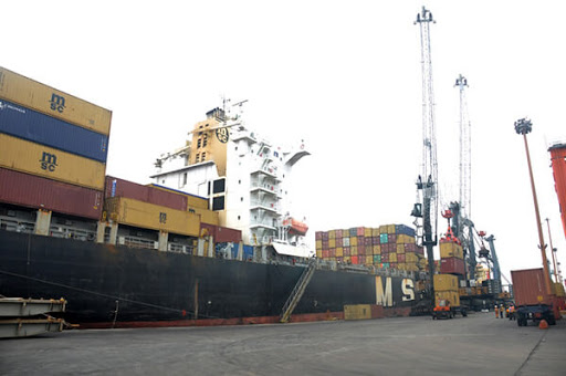 Hapag Lloyd Liner makes first call at Ports & Cargo Terminal