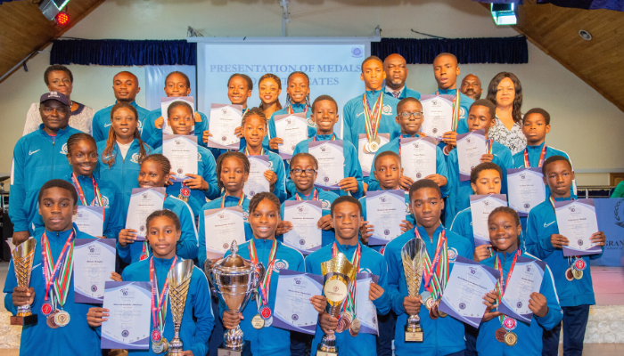 Team Grange beats off competition to win World School Games