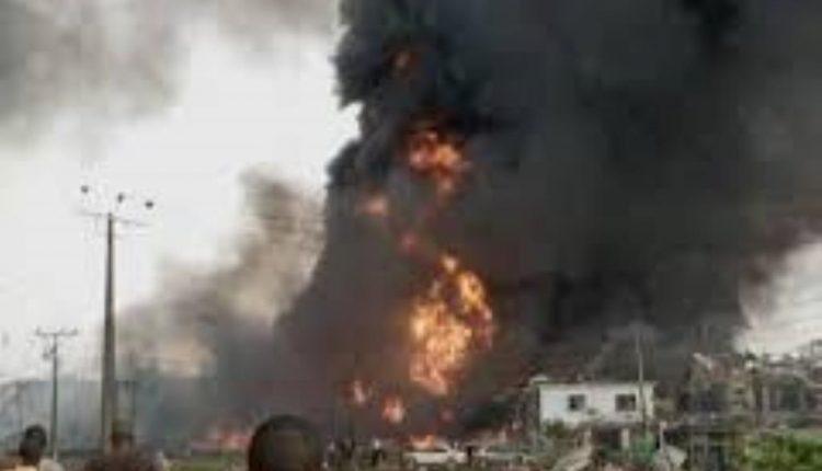 Explosion renders hundreds homeless in Lagos