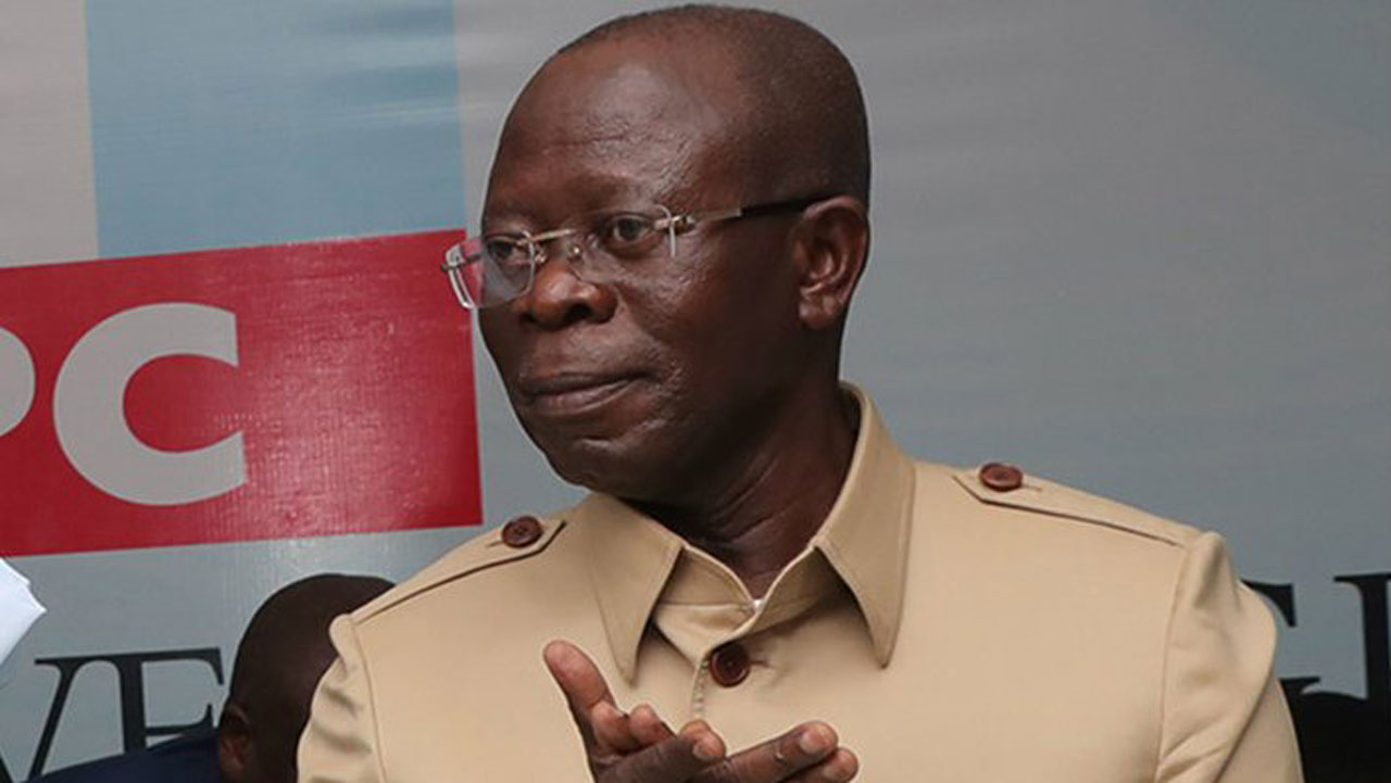 APC Crisis: Party leaders pass vote of confidence on Oshiomhole ...