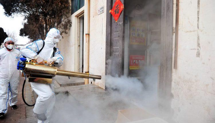 Coronavirus: Agboyi-ketu LCDA fumigates streets
