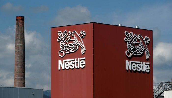 Nestle shares hit lowest price in 12-months amid market sell off
