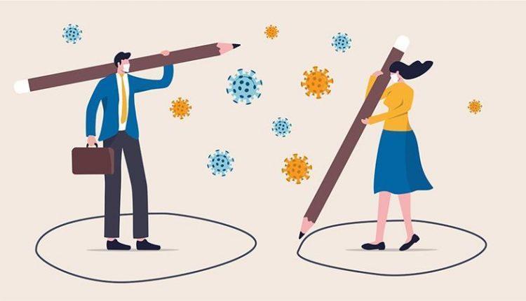 Coronavirus: social versus physical distancing