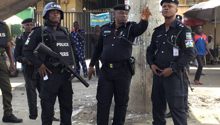 Barely 24 hours into lockdown, law enforcement officers in Lagos have begun 'harassing' essential services workers over the interpretation of the conditions