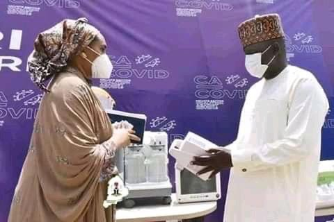 Coalition Against COVID-19 boosts fight against pandemic with free medical equipment to Borno