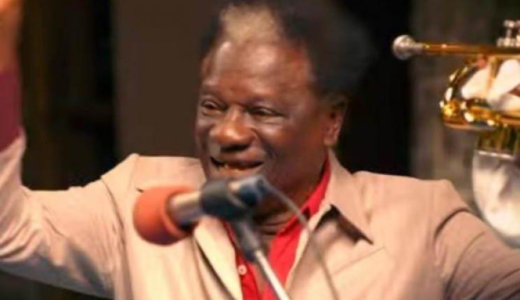 Victor Olaiya goes with his trumpet