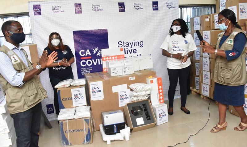 COVID-19: CACOVID donates food items to Yobe govt.