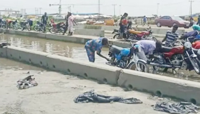 Lagos-Badagry rail project over-flooded