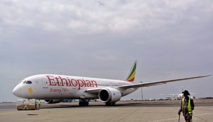 ethopian airlines caught on fire
