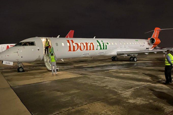 Ibom Air welcomes 5th CRJ900 aircraft