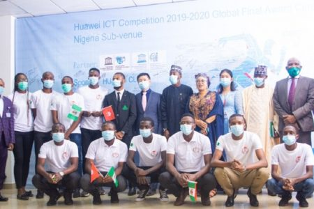 Team Nigeria wins first place position in 2020 Huawei Global ICT competition  - Businessday NG